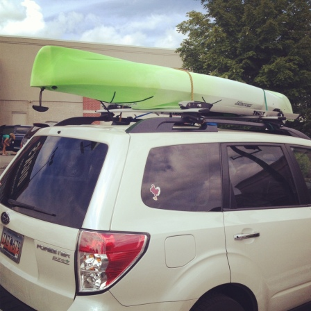 New green kayak!!