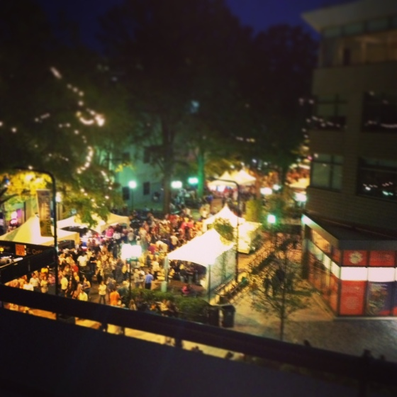 Fall for Greenville - view from SIP